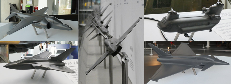 RAF Museum London – tactile aircraft models