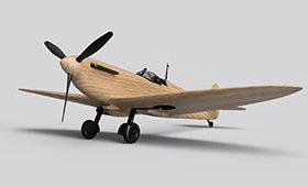 Wooden Spitfire
