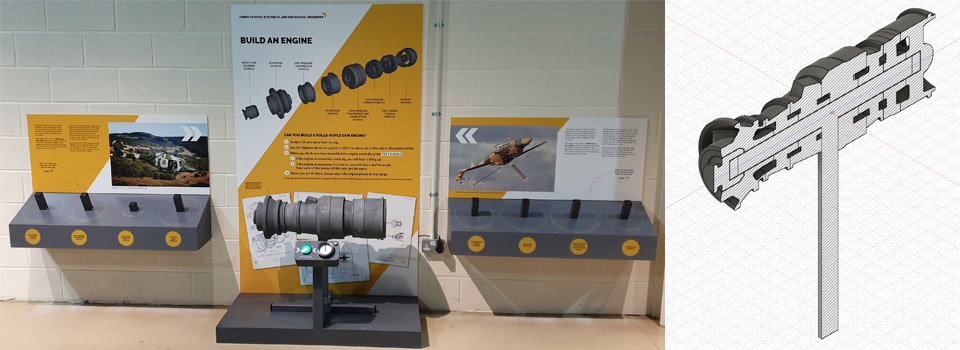 Gem Turbine model –  Army Flying Museum
