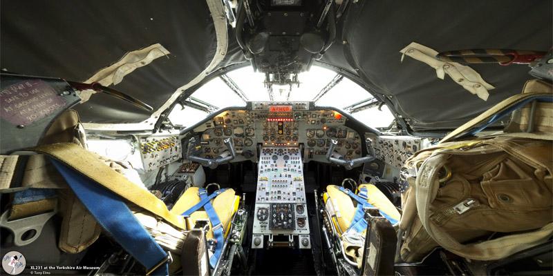 Tony Elms // 3D Artist » Panoramas B2 Cockpit Panorama